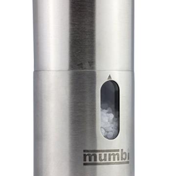 Mumbi Edelstahl Pfeffermühle Set elektrisch - 5