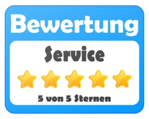 Service Bewertung