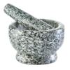 Zeller 24503 Mörser und Stößel Set, Granit, grau - 1