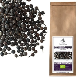 EDEL KRAUT | BIO Kubebenpfeffer ganz - Premium Hildegard - organic ground cubeb pepper 250g -